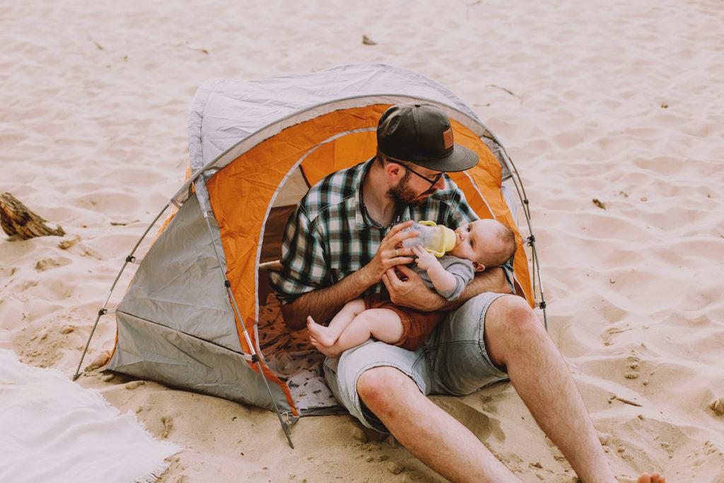 wyjzad z dzieckiem namiot plazowy (1)