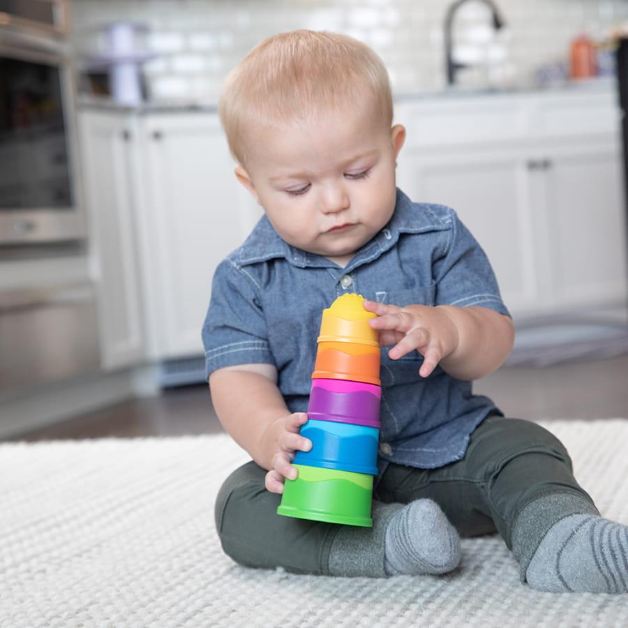 dzien dziecka z tublu - prezenty dla niemowlaka - babelkowa wieza