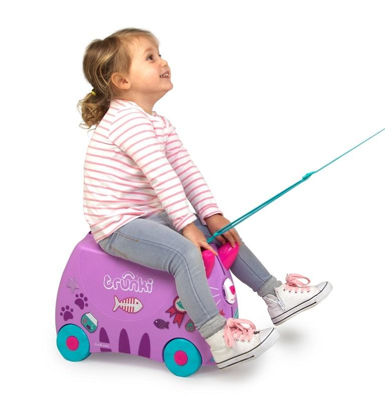 wyjazd z dzieckiem walizki trunki