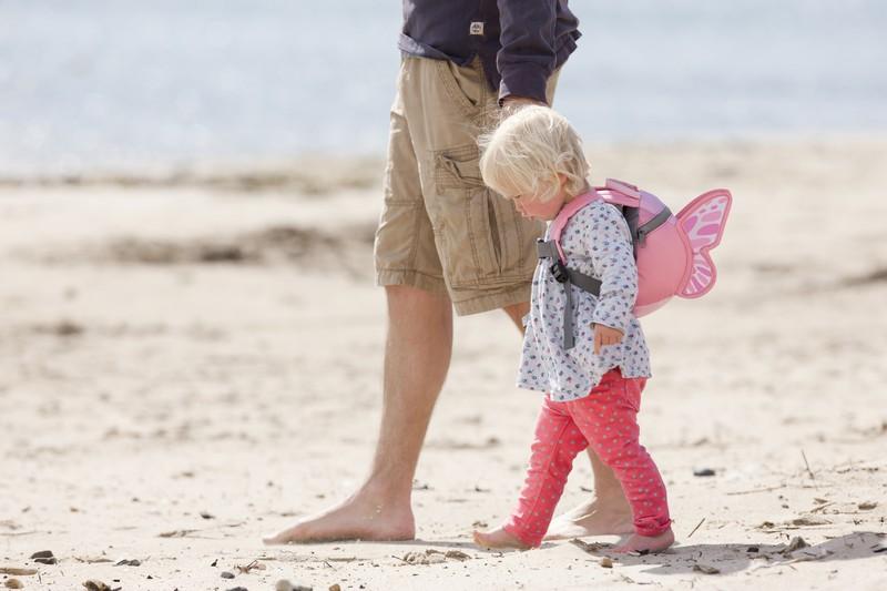 wyjazd z dzieckiem plecaczek littlelife motylek