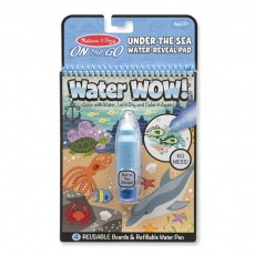 Kolorowanka wodna Water WOW! Melissa & Doug - Under The Sea