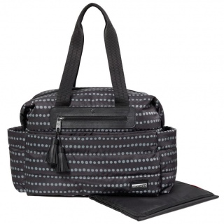Torba Skip Hop Riverside - Black Dot