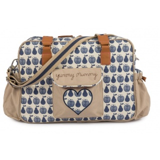 Torba Pink Lining - Yummy Mummy - Apples and Pears Blue