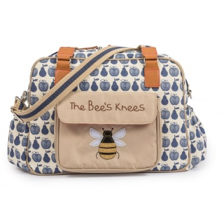 Torba Pink Lining - The Bees Knees - Apples and Pears Blue