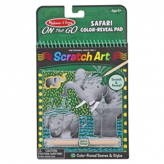 Zestaw do grawerowania On the Go Melissa & Doug - Safari