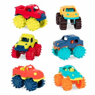 Zestaw 6 Monster Trucków B. Toys - Thunder Monster - Monster Trucks