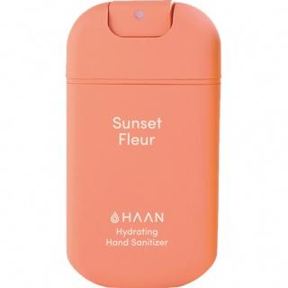 Dezynfekujący spray do rąk Haan Pocket - Sunset Fleur
