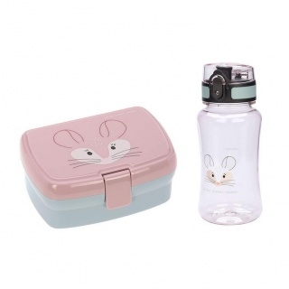 Zestaw Lunchbox + Tritanowy bidon 460 ml About Friends Lassig - Szynszyla