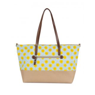 Torba Pink Lining - Notting Hill Tote Sunflowers
