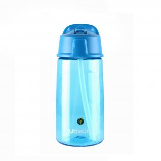 Bidon Flip-Top LittleLife 550ml - Blue