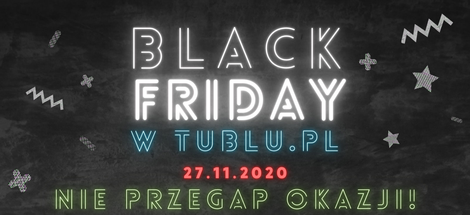 Black Friday w tublu